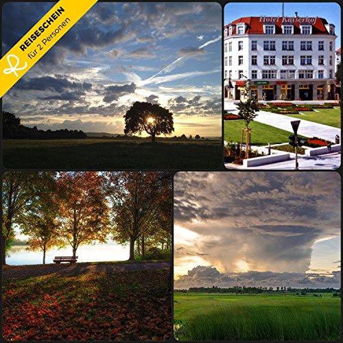 Reiseschein - 3 Tage nach Fürstenwalde bei Berlin im Hotel Kaiserhof **** - Gutschein Kurzreise Kurzurlaub Reise Geschenk
