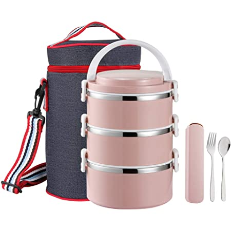 Stainless Steel Thermal insulated Lunch Box Food Container for men women Kids