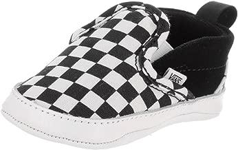 Vans Infant Checker Slip-On Black/True White Crib Shoes