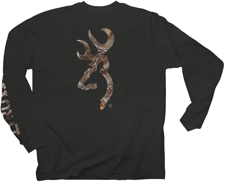 Browning Youth Buckmark T-Shirt | Long Sleeve | Black | X-Large