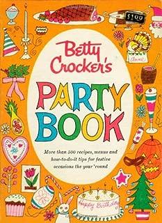 Betty Crocker Party Cookbook