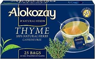 Alokozay Thyme Tea Bags, 25 Bags (6291101132842)