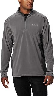 Columbia Men's Klamath Range II Half Zip Pullover, Lightweight Microfleece, Sun Protection
