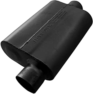Flowmaster 943041 40 Delta Flow Muffler - 3.00 Offset IN / 3.00 Center OUT - Aggressive Sound