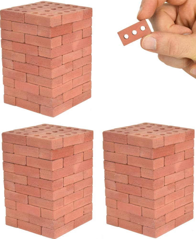 Acacia Grove Mini Red Bricks Popular product Ranking TOP3 Scale 1:6 Pack 160