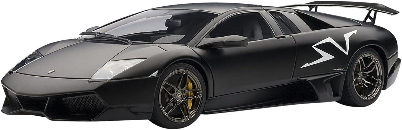 LAMBORGHINI MURCIELAGO LP6704 SV black NEMESIS   MATT BLACK Diecast Model Car ... (japan import)