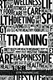 """Gym Training Log: Motivational Word Art Cover   Fitness Journal, Gym & Nutrition Log   Workout and Record Your Progress   Set Your Goals   For Men & Women   Keep Healthy & on Track   Gym Diary   6""""x9'"""