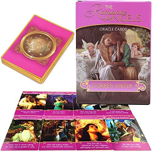 Romantik Engel Oracle-Karten, geerntet paaren Führung Tarot-Karte Anzug romantische Liebe und Seele von 44 der Liebe, Anfänger romantische Liebe Karte