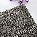 DIY 3D ladrillo PE espuma papel pared papel pintado 3d...