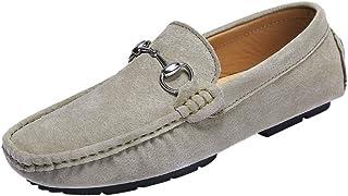 Salabobo Mens Flat Comfor Slip on Moccasins Driving Work Loafers 2090