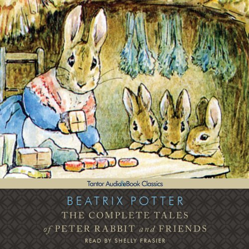 The Complete Tales of Beatrix Potter audiobook cover art