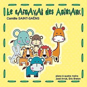 Le carnaval des animaux (Fantaisie zoologique adaptée pour piano à quatre mains)