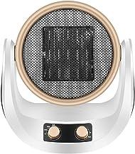 Wwjiaju Ventilador de la calefacción 2000W,Escritorio Calentador de Aire Caliente y frío,Oficina en casa Calentador de Ventilador eléctrico,Viento Natural/Baja en calorías/Alta en calorías
