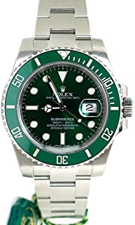Submariner Date 40mm Green Dial Mens Watch 116610