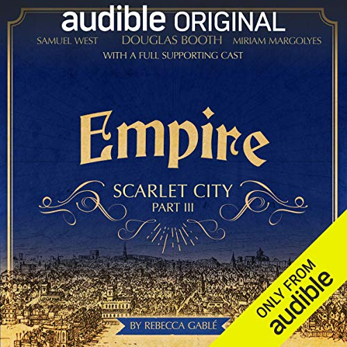 Page de couverture de Empire: Scarlet City - Part III