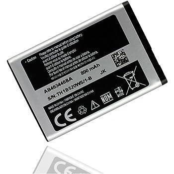 AB463446BU, batteria originale per Samsung GT E1270 GT