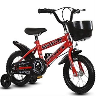 "TWTD-TYK Kid's Bike,Children's Bike, Toddler Balance Bike Unisex Adjudtable Children Training Bicycle in Size 12"" 14"" 16"" for 2-7 Years Old"