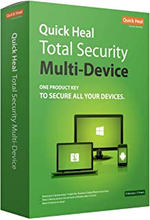 Quick Heal Total Security Multi Device 3 Year 5 Devices (CD)