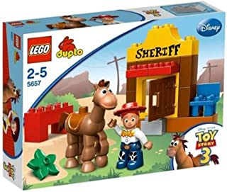 レゴ (LEGO) デュプロ トイ・ストーリー ジェシーとブルズアイ 5657