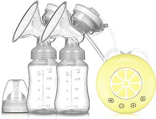 Breast Pump Single/Double Electric Breast Pump BPA Free Powerful Breast Pumps USB Electric Breast Pump With Baby Milk Bott...