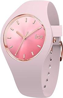 Ice-Watch - Ice Sunset Pink - Montre Rose pour Femme avec Bracelet en Silicone - 015747 (Medium)