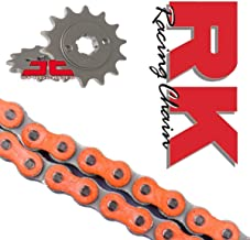 RK Racing Chain and Sprocket Kit Orange Compatible with KTM SX65 2014-17