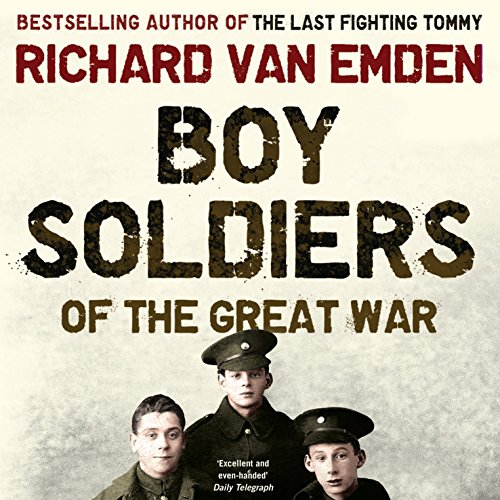 Boy Soldiers of the Great War audiobook cover art