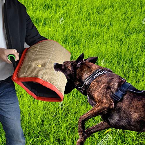 Hjinyu Hunde Trainings Ausrüstung Schutzhülle Armschutz Schutzarm Extern Bissmanschette Hundeausbildung Hundetraining Bisstraining Beißschutz für Hunde