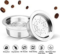 Galapara Reusable Coffee Filters ,Stainless Steel Reusable Coffee Capsules Refillable Coffee Capsule Cup Pods Holder Filte...