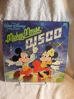 SCARCE! MICKEY MOUSE DISCO *VERY RARE* VINYL LP 8122 DISNEYLAND RECORDS