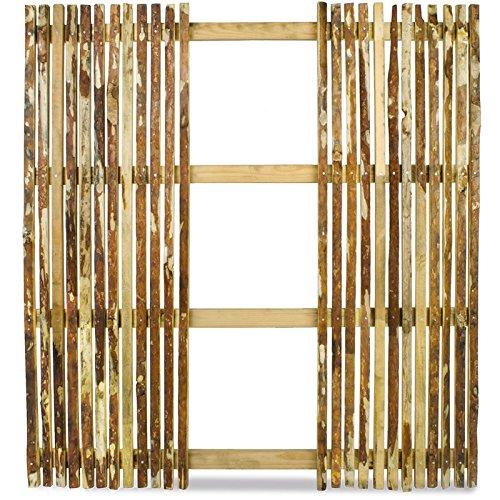 Weidenprofi Sichtschutzzaun Walden, mit Ausschnitt für Modul, 150 x 165 cm