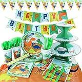 hapycity 164Pieces Dinosaur Party Supplies...
