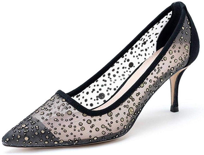 CYMIU CYMIU CYMIU Shallow Mouth Spitz Damen Single Fein High Heels Mode Schuhe Kleid Frühling Und Sommer  a8f9df