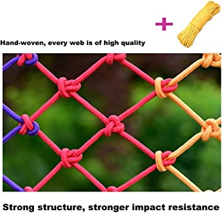 Nets Stair Netting,Balcony Netting Color Stair Net Kids Safe Safety Fence Stairs Railing Rail Door Nets for Children Child Apartment Mesh Nylon Protective Protection Net ( Size : 10X10M(33X33FT) )