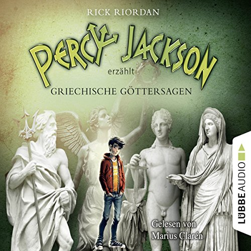 Percy Jackson erzählt - Griechische Göttersagen audiobook cover art
