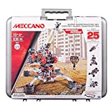 Product Image of the Meccano Erector Super Construction 25-in-1 Building Set, 638 Parts, for Ages...