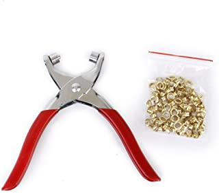 Generic GNRC_1 Gro mmet Rivets Eyelet Setting Pliers Tool for Bags Shoes Leather Belt