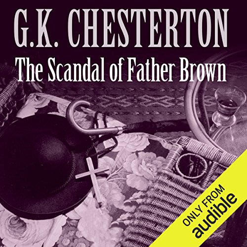 The Scandal of Father Brown audiobook cover art
