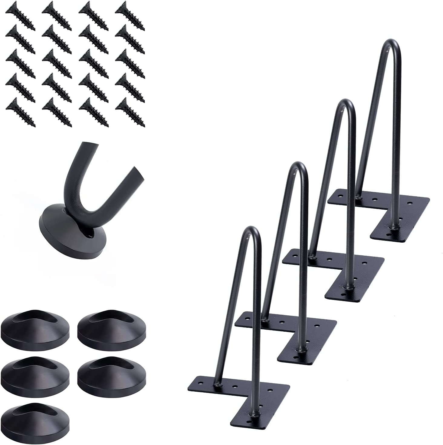 10 Inch Heavy Duty Hairpin Furniture DIY Project Max 44% OFF Legs Home Metal Max 48% OFF