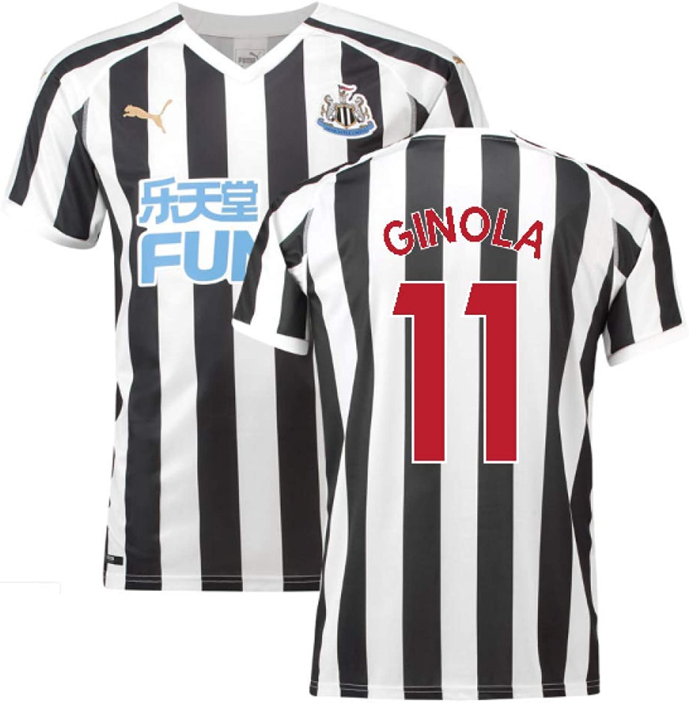 2018-2019 Newcastle Home Football Shirt (David Ginola 11)