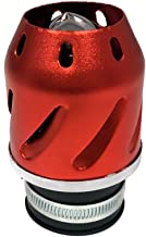 MMG 38mm Universal Compatible on 'Bullet' Air Filter - Motorcycle Scooter Pocket Bike - Red (Model 10401-01)