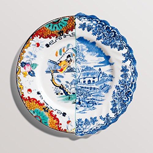 Hybrid-Valdrada Assiette à fruits en porcelaine Ø 20 cm H 1,6 cm