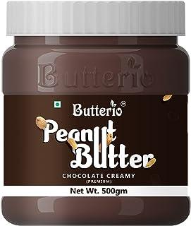 Butterio Chocolate Creamy Peanut Butter (500 gm)