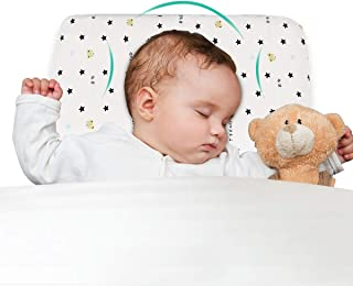 XiXi&Chuangyi Baby Pillow, Memory Foam Baby Pillow, Baby Head Shaping Pillow, Prevent Flat Head