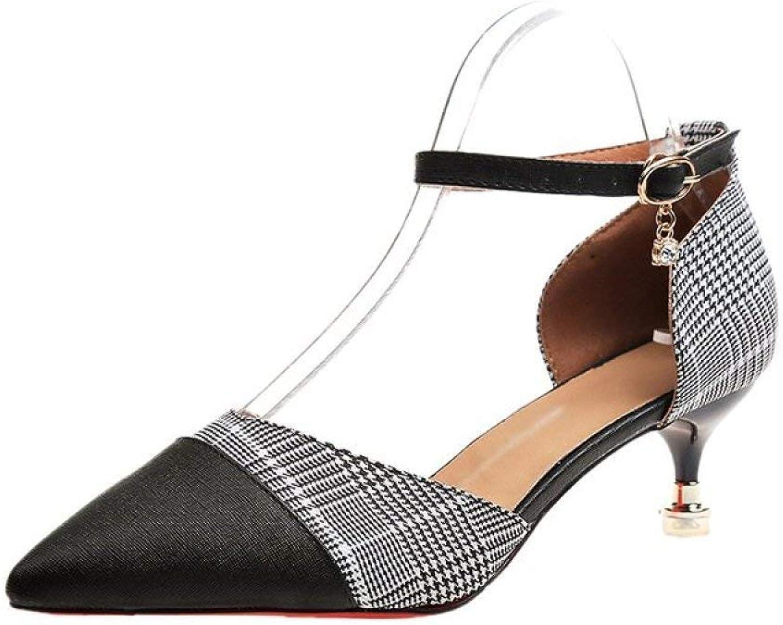 Eeayyygch Herbst und Sommer Hausschuhe Mutter Schuhe Casual Leder niedrig zu helfen, Flache Erbsen Damenschuhe Größe 44 (Farbe   Schwarz, Größe   38)    Sorgfältig ausgewählte Materialien