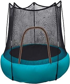 FEDYS Cama Elastica Infantil Interior/Al Aire Libre Inflable TrampolíN PequeñA con Red Protectora,para NiñOs Mayores De 2 AñOs / 60 Kg(1 Bomba de Aire incluida)