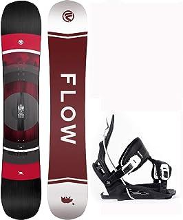 Flow Vert 159cm Men's Snowboard Alpha LTD Large Bindings