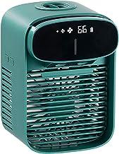 AC-unit draagbaar, persoonlijke luchtkoeler - USB-bureauventilator met 3 snelheden draagbare airconditioner met waterbox v...
