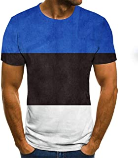 Summer Newest National flags 3D Printed T Shirt Men Casual Male tshirt Short Sleeve Funny T Shirts Tops tee 5XL TXU-1281