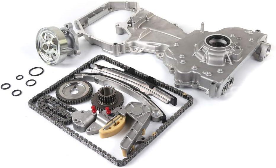 2005-2007 Nissan Frontier 2.5L L4 DOHC 16V QR25DE 2002-2006 Nissan Sentra SE-R 2.5L 9-4212S Timing Chain Kit Compatible with 2002-2006 Nissan Altima 2.5L